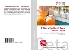 Bookcover of Office of National Drug Control Policy