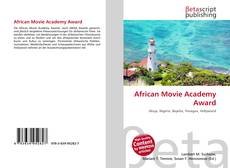 Bookcover of African Movie Academy Award