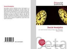 Buchcover von Social Analytics