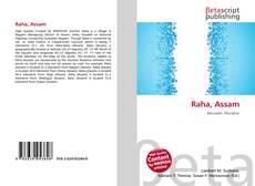 Bookcover of Raha, Assam