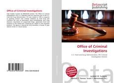 Portada del libro de Office of Criminal Investigations