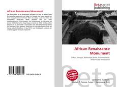 Bookcover of African Renaissance Monument