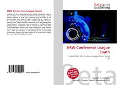 Bookcover of NSW Conference League South