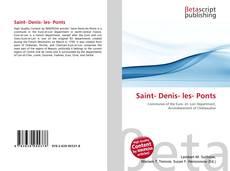 Обложка Saint- Denis- les- Ponts