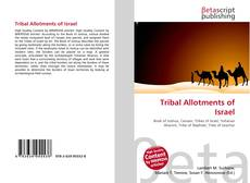 Bookcover of Tribal Allotments of Israel
