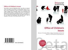 Bookcover of Office of Children's Issues
