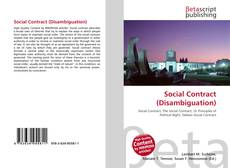 Bookcover of Social Contract (Disambiguation)