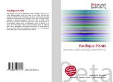 Bookcover of Pacifique Plante