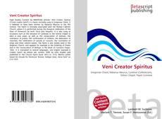 Capa do livro de Veni Creator Spiritus