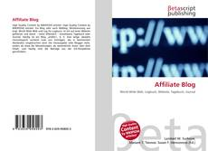 Bookcover of Affiliate Blog