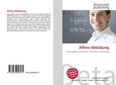 Bookcover of Affine Abbildung
