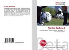 Portada del libro de Walter Bechtold