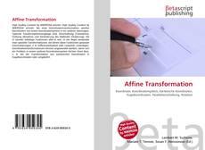 Capa do livro de Affine Transformation