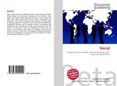 Bookcover of Social