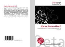 Обложка Walter Benton (Poet)