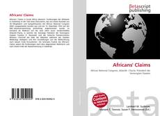 Bookcover of Africans' Claims