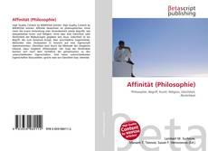 Обложка Affinität (Philosophie)