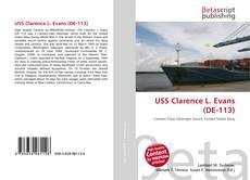 Buchcover von USS Clarence L. Evans (DE-113)
