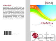 Обложка Afrika-Feldzug