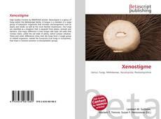 Xenostigme kitap kapağı
