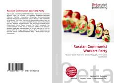 Bookcover of Russian Communist Workers Party