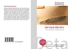 Capa do livro de USS Clark (DD-361)