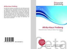 Borítókép a  Afrika-Haus Freiberg - hoz