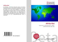 Bookcover of Afrika-Rat