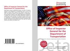 Office of Inspector General for the Department of Transportation kitap kapağı