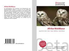Portada del libro de Afrika-Waldkauz