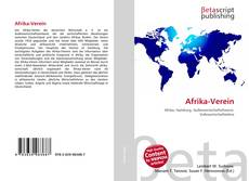 Portada del libro de Afrika-Verein