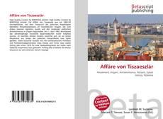 Buchcover von Affäre von Tiszaeszlár