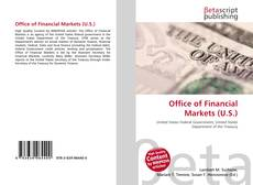 Bookcover of Office of Financial Markets (U.S.)