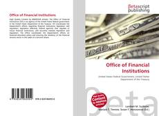 Buchcover von Office of Financial Institutions