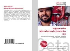 Bookcover of Afghanische Menschenrechtskommission