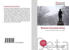 Couverture de Russian Caucasus Army
