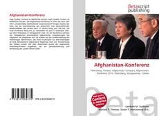 Bookcover of Afghanistan-Konferenz
