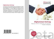 Couverture de Afghanistan-Vertrag