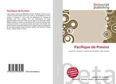 Bookcover of Pacifique de Provins