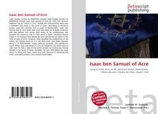 Bookcover of Isaac ben Samuel of Acre