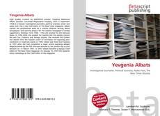Bookcover of Yevgenia Albats
