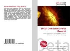 Copertina di Social Democratic Party (France)