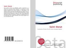 Saint- Donat的封面