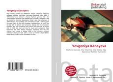 Capa do livro de Yevgeniya Kanayeva