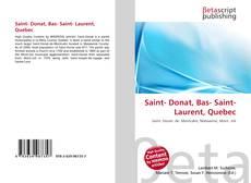 Saint- Donat, Bas- Saint- Laurent, Quebec的封面