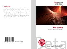 Bookcover of Saint- Dos