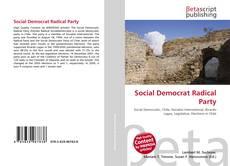 Borítókép a  Social Democrat Radical Party - hoz