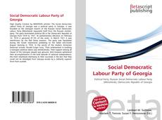 Buchcover von Social Democratic Labour Party of Georgia