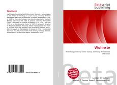 Bookcover of Wohnste