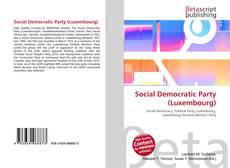 Social Democratic Party (Luxembourg)的封面